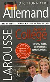DICTIONNAIRE ALLEMAND SPECIAL'COLLEGE