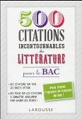300 CITATIONS INCONTOURNABLES DE LITTERATURE
