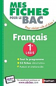 MES FICHES ABC DU BAC FRANCAIS 1RE L-ES-S