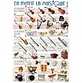 POSTERS/INSTRUMENTS MUSIQUE