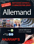 HARRAP'S METHODE EXPRESS ALLEMAND - COFFRET NE