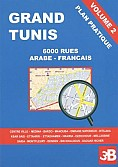 Plan pratique: Grand Tunis Volume 2