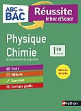 ABC REUSSITE PHYSIQUE-CHIMIE 1